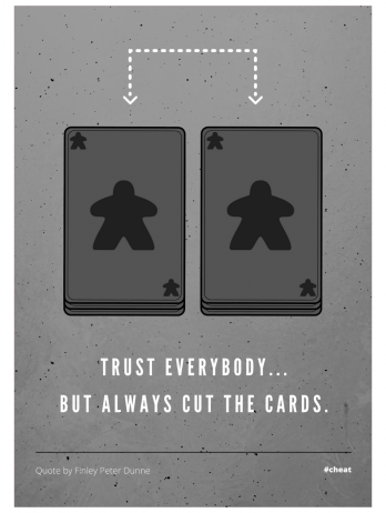 Always Cut The Cards!