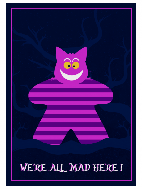 poster alice-chat-meeple